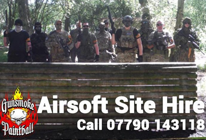 Site hire for airsoft teams and groups